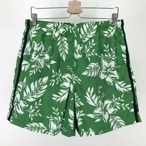 Nautica Mens Large Lined Swim Trunks Shorts Floral